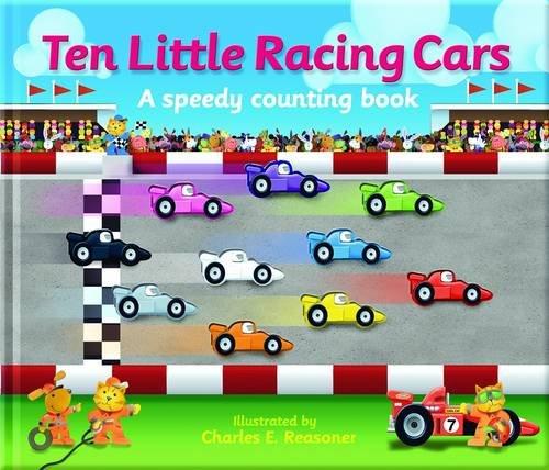 Ten Little Racing Cars: Thomson, Kate