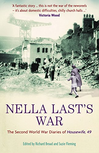 9781846680007: Nella Last's War: The Second World War Diaries of 'Housewife, 49'