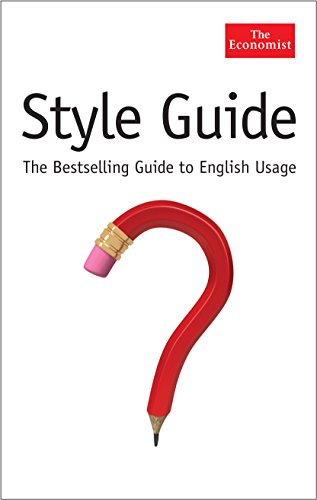 9781846681752: The Economist Style Guide