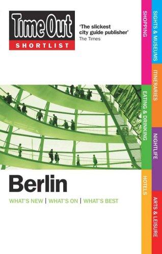 9781846700378: Time Out Shortlist Berlin