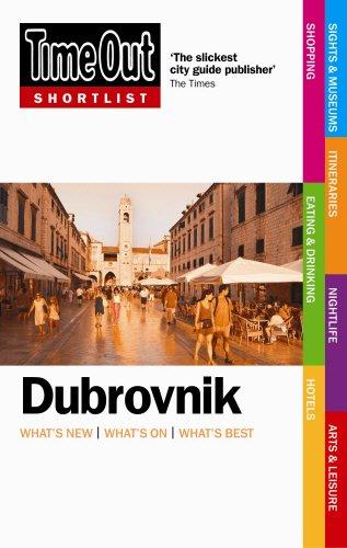 9781846700408: Time Out Shortlist Dubrovnik