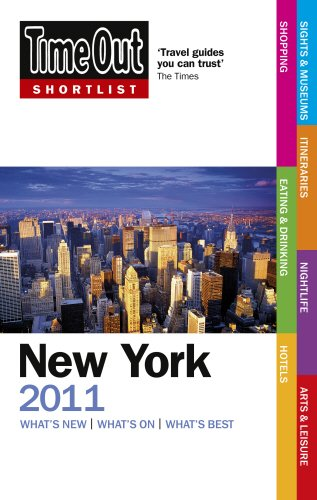 9781846701795: Time Out Shortlist New York 2011