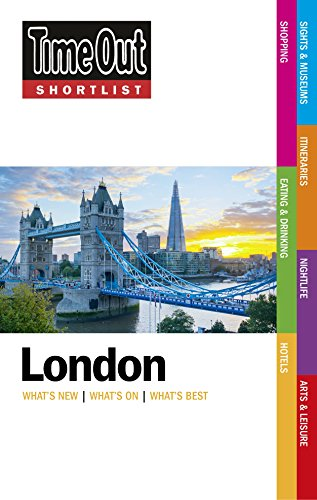 9781846703409: Time Out Shortlist London 2015