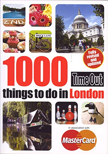 9781846703737: Time Out 1000 things to do in London 3rd edition: Revised & updated (Time Out Guides)