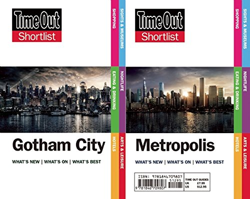 9781846709807: Time Out Shortlist Gotham and Metropolis