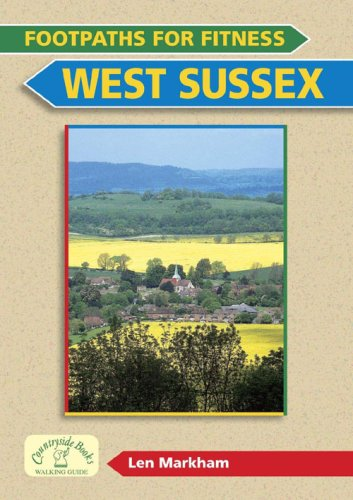 9781846741227: Footpaths for Fitness: West Sussex