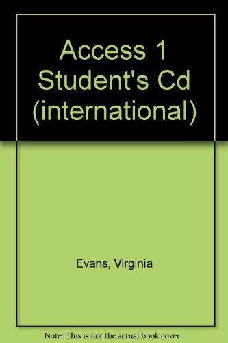 9781846794773: Access 1 Student's Cd (international)