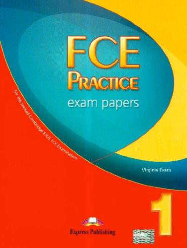 9781846795800: FCE Practice Exam Papers 1 Student's Book