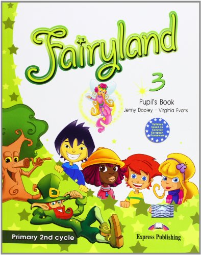 Fairyland 3 Primary 2nd Cycle Pupil's Book (1846797454) by Dooley, Jenny; Evans, Virginia
