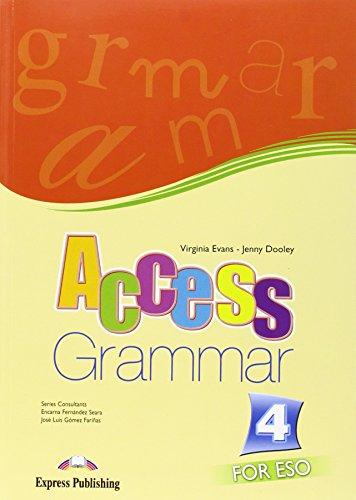 9781846798788: Access 4 for ESO Grammar Book