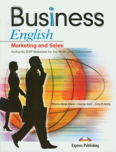 9781846799938: Business English Marketing and Sales Authentic Esp Materials