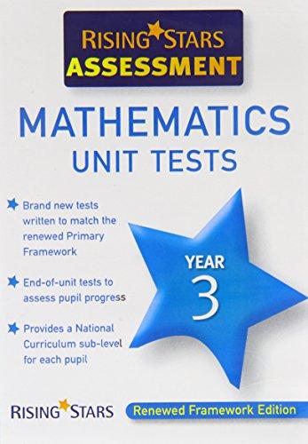 9781846804069: Rising Stars Assessment: Mathematics Unit Tests Year 3