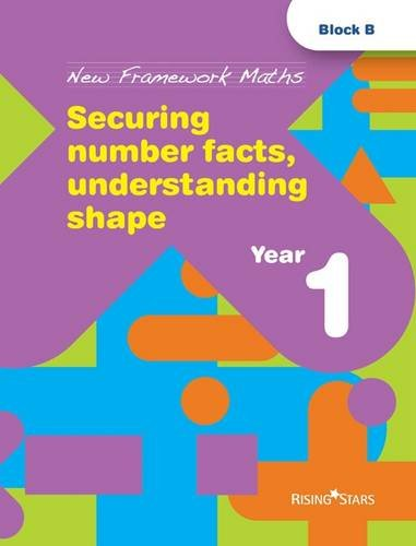 9781846805325: Securing Number Facts, Understanding Shape: Year 1 (New Framework Maths)