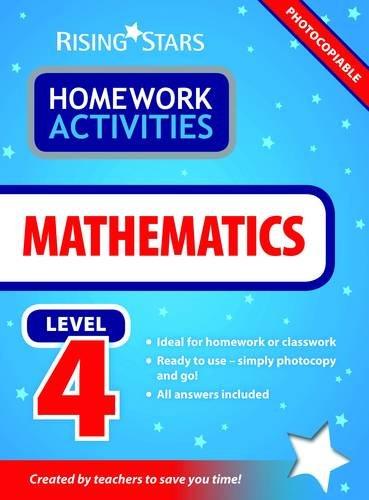9781846809309: RS Homework Activites Mathematics Level 4 (RS Homework Activities)