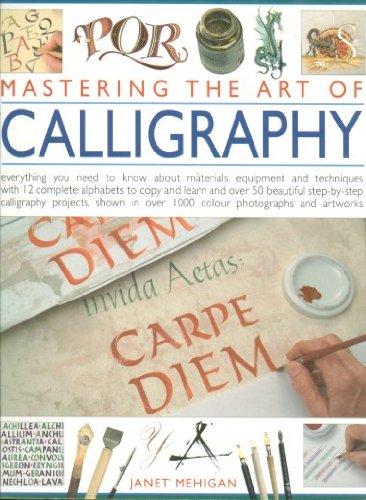 9781846810053: MASTERING ART OF CALLIGRAPHY