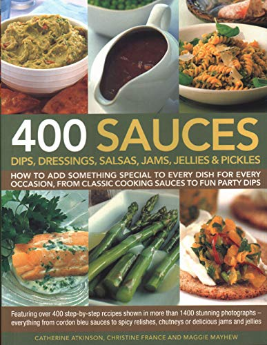 9781846810718: 400 Sauces-Dips Dressings Salsas