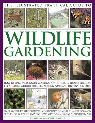 9781846811487: The Illustrated Practical Guide to Wildlife Gardening: How To Make Wildflower Meadows, Ponds, Hedges, Flower Borders, Bird Feeders, Wildlife Shelters, Nesting Boxes And Hibernation Sites