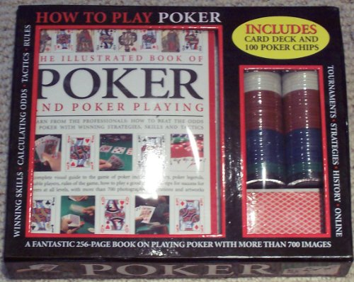 9781846816956: How To Play Poker Includes card deck and 100 poker chips