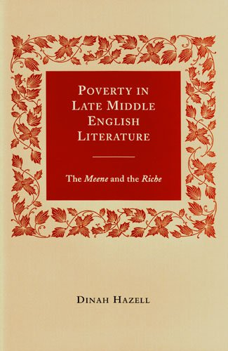 9781846821554: Poverty in Late Middle English Literature: The Meene and the Riche