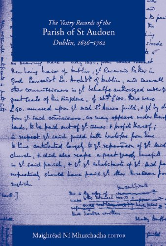 The Vestry Records of the Parish of: Maighréad Ní Mhurchadha