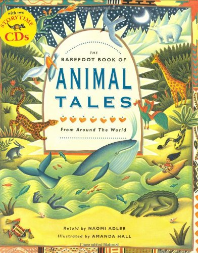 9781846860133: The Barefoot Book of Animal Tales PB w CD