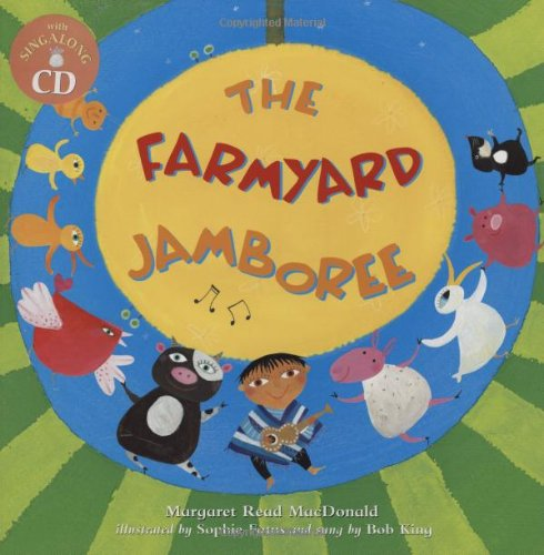 9781846860300: The Farmyard Jamboree PB w CD
