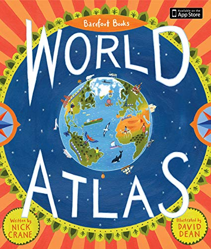 9781846863325: Barefoot Books World Atlas