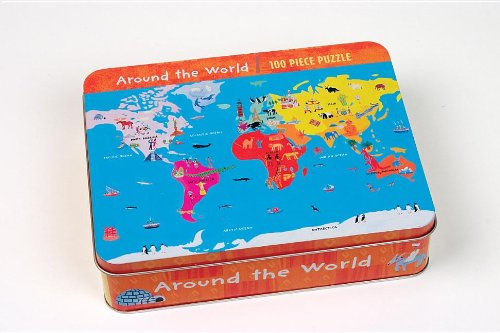 9781846865244: Barefoot Around the World 100 Piece Puzzle (Bearfoot)