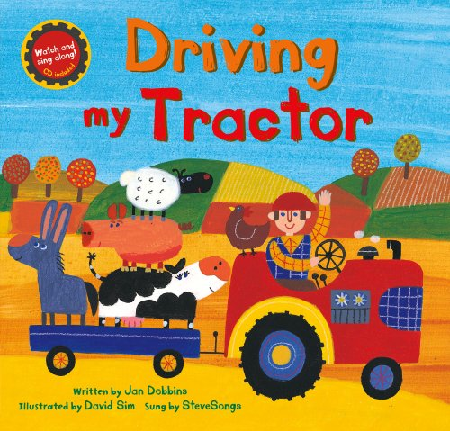 9781846866647: Driving My Tractor PB w CDEX (A Barefoot Singalong)