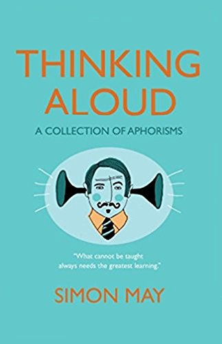 9781846880919: Thinking Aloud: A Collection of Aphorisms