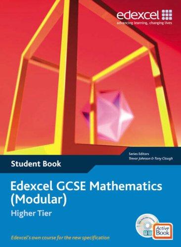 9781846901027: Edexcel GCSE Maths: Modular Higher Student Book and Active Book (Edexcel GCSE Maths)