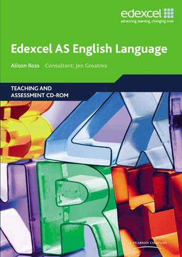 Edexcel AS English Language Teaching and Assessment: Alison Ross