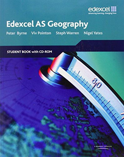 9781846903212: Edexcel AS Geography: Student Book and Student CD-ROM
