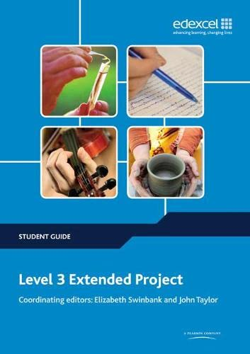 9781846903632: Level 3 Extended Project Student Guide (Project and Extended Project Guides)