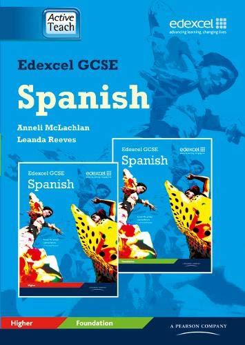 9781846903939: Edexcel GCSE Spanish ActiveTeach CDROM