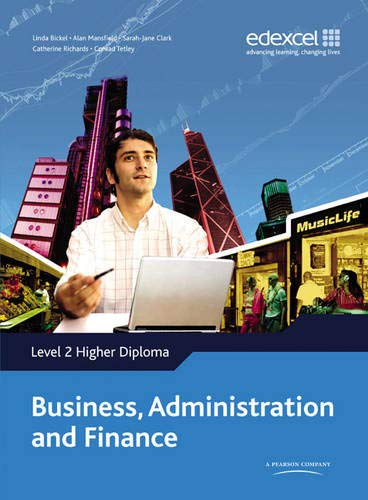 9781846904141: Higher Diploma in Business Administration and Finance: Level 2 Higher Diploma in Business Administration and Finance Student Book Student Book