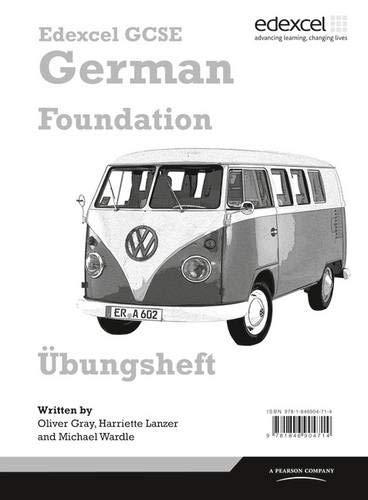 9781846904714: Edexcel GCSE German Foundation Workbook for Pack