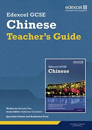 9781846905186: Edexcel GCSE Chinese Teacher's Guide