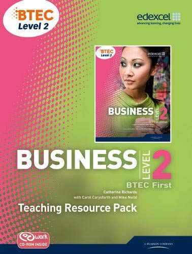 BTEC Level 2 First Business Teaching Resource Pack (Mixed media product): Catherine Richards