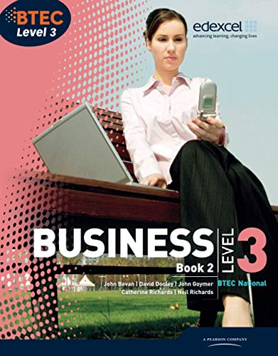 BTEC Level 3 National Business Student Book: Richards, Catherine; Dransfield,