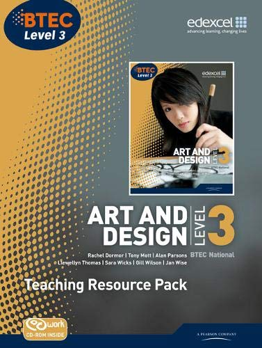 BTEC Level 3 National Art and Design Teaching Resource Pack (Mixed media product): Gillian Wilson, ...