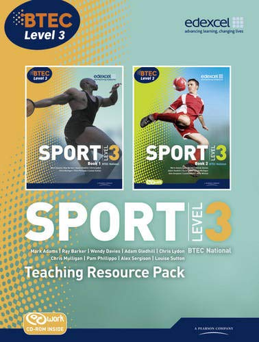 9781846906541: BTEC Level 3 National Sport Teaching Resource Pack (BTEC National Sport 2010)