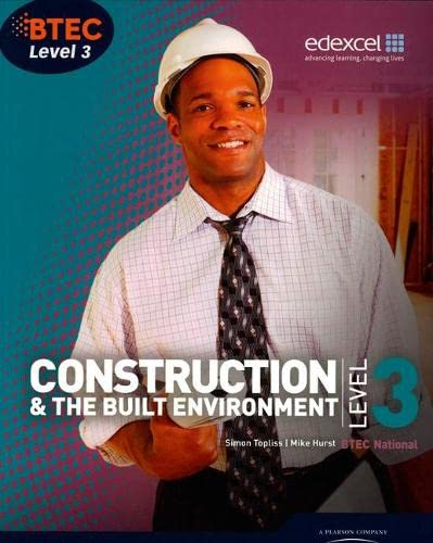9781846906565: BTEC Level 3 National Construction and the Built Environment Student Book (Level 3 BTEC National Construction)