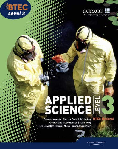 9781846906800: Btec National Applied Science. Level 3, Student Book