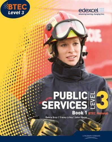 9781846907197: BTEC Level 3 National Public Services Student Book 1 (Level 3 BTEC National Public Service)