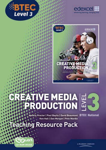 9781846907371: BTEC Level 3 National Creative Media Production Teaching Resource Pack (Level 3 BTEC National Creative Media Production)