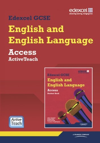Edexcel GCSE English and English Language Access: ActiveTeach Pack (Mixed media product): Clare ...