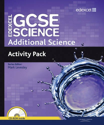 Edexcel GCSE Science: Additional Science Activity Pack (Edexcel GCSE Science 2011) (1846908825) by Mark Levesley; Penny Johnson; Aaron Bridges; Ann Fullick; Richard Grime; Susan Kearsey; Miles Hudson; Nigel Saunders; Mary Jones; Carol Chapman