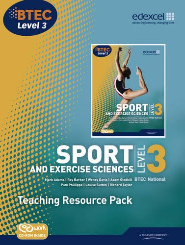 BTEC Level 3 National Sport and Exercise Sciences Teaching Resource Pack (BTEC National Sport 2010) (1846908965) by Mark Adams; Adam Gledhill; Pam Phillippo; Chris Mulligan; Louise Sutton; Richard Taylor; Wendy Davies; Nick Wilmot; Ray Barker