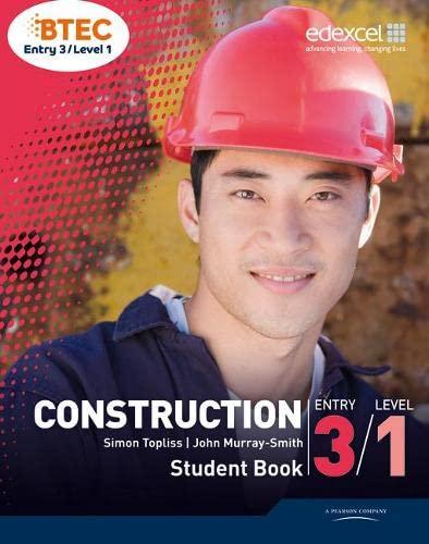 BTEC Entry 3/Level 1 Construction Student Book: Murray-Smith, John; Topliss, Simon